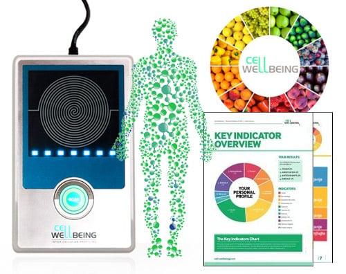 S-Drive, Cell Wellbeing: máquina de avaliação da saúde através do cabelo